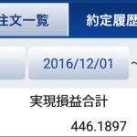 【2016年12月】2分間FX運用実績報告 月利2.97%の収益が出ました!
