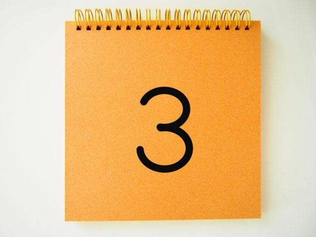 3. 新しい紙を出して整理する(制限時間20分)