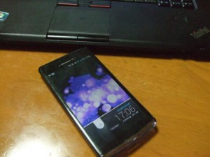 【Android】SH-04Eの電源が勝手に落ちる時の対処法
