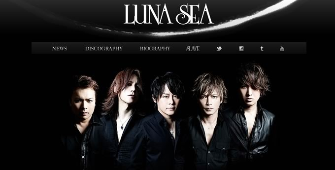 LUNA SEAオフィシャルサイトより引用