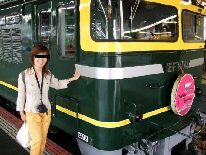 電車を愛するタジンマン