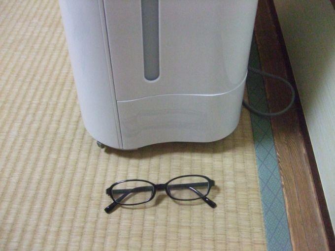 とにかく薄い!メガネとほぼ同じ厚さ!