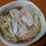 【ホットクック】白菜と豚バラの重ね煮が最高に旨い!